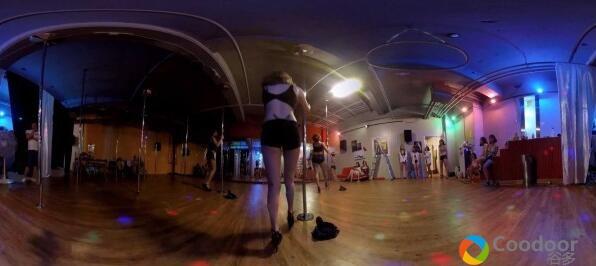 VR全景视频-性感钢管舞4K
