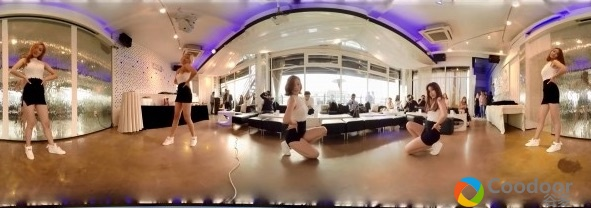 VR全景视频-[美女] 360°VR 换个角度欣赏美女