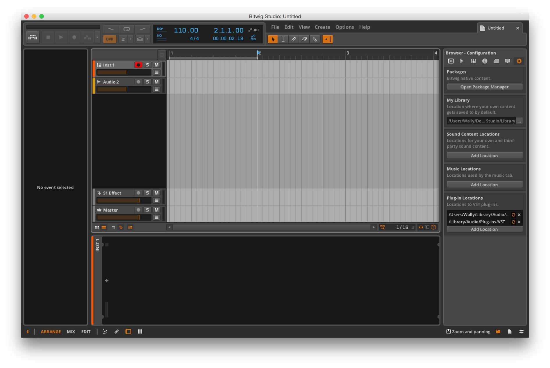 Mac软件-Bitwig Studio:专业音频编辑软件 for Mac 1.0.11 下载