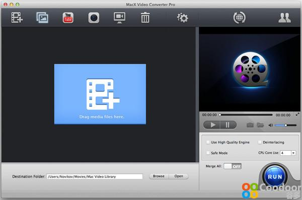 Mac软件-MacX Video Converter Pro for mac V5.5.4
