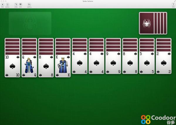 Mac游戏-蜘蛛纸牌(1.5)