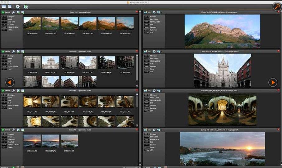 Mac软件-Autopano Giga:Mac平台的全景图制作工具 for Mac 3.7.1 下载
