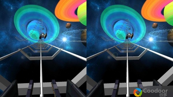 VR安卓游戏-太空过山车