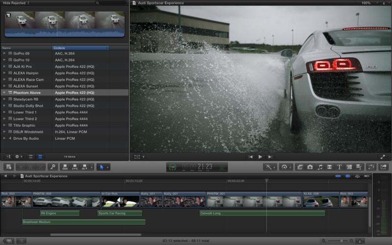 Mac软件-Final Cut Pro:最专业的视频编辑软件绿色版 for Mac 10.1.4 下载