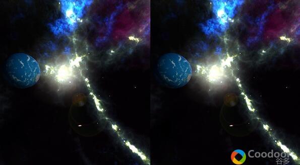 VR安卓游戏-[场景体验] 太空放松 VR Space Relaxation