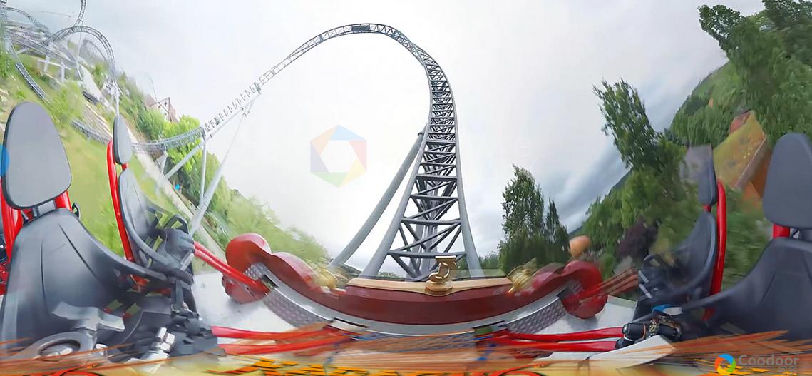 VR全景视频-[竞速] 《真实过山车》4K高清